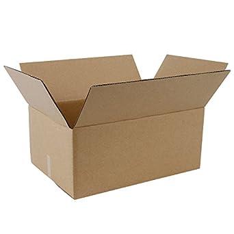 "Caja de cartón corrugado ruspepa reciclado 9 x 6 x 4 ""valor papel Kraft"