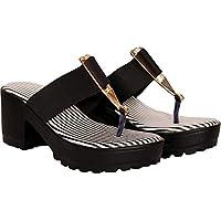 TOSHINA SHOES KING Women Black Heels