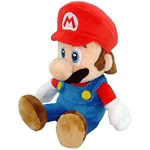 "Little Buddy Toys Nintendo Official Super Mario Plush, 8"" - 41tlJLOWUGL - Little Buddy Toys Nintendo Official Super Mario Plush, 8″"