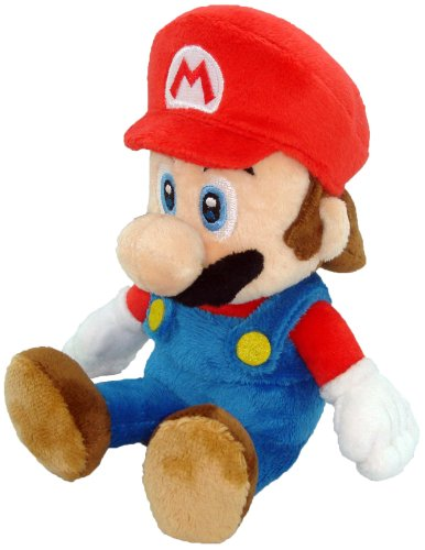Little Buddy Toys Nintendo Official Super Mario Plush, 8""