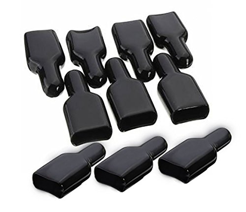 Actopus 10pcs FR PVC Cover Flame Retardant Sleeve for ANDERSON Powerpole Connector Housing