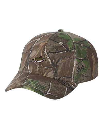 Rudd FISH Custom Personalized Embroidery Embroidered Camouflage Hat