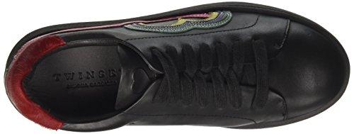 Twin Set Ca7pf1, Sneaker a Collo Basso Donna nero
