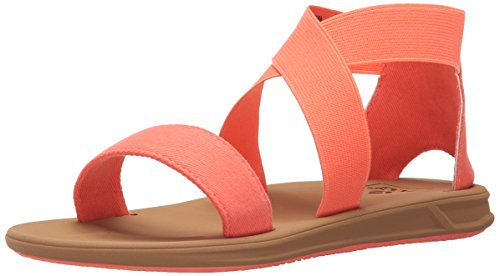Reef Little Rover Hi, Zapatos de Primeros Pasos Para Bebés Naranja (Coral)