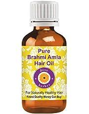 Aceite para cabello de Deve Herbes con brahmi y amla, 100ml