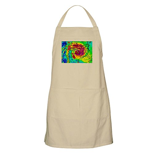 CafePress - Wichita Vortex BBQ Apron - Kitchen Apron with Po