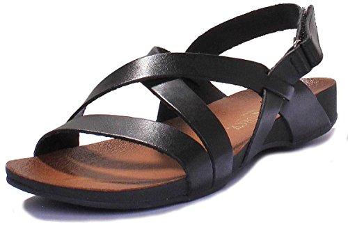 Noir Sandales pour Justin Reece Femme 7190 qXUFxx7awg