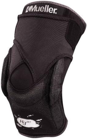 Mueller Bandage Hg80 Kniebandage mit Kevlar und Gelenk, schwarz