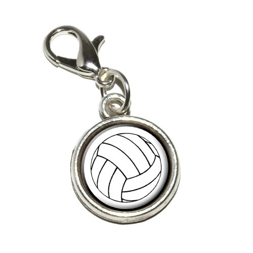 Graphics More Volleyball Antiqued Bracelet