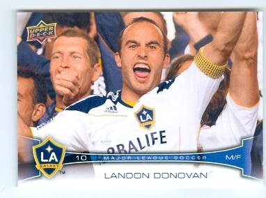 Landon Donovan trading card (LA Galaxy MLS USA Soccer) 2012 Upper Deck #64