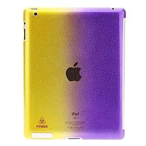 Doble Colores 3D Water Drops caso del patrón de la PC dura para el iPad 2/3/4