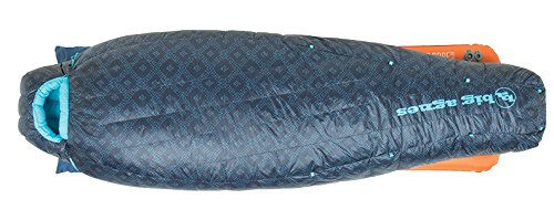 Bag Agnes Big Sleeping Nylon (Big Agnes - Sidney SL 25 Sleeping Bag with 650 DownTek Fill, Regular Length, Right Zipper)
