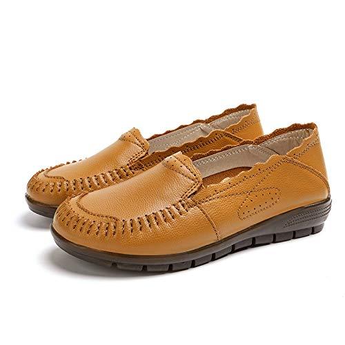 Taille Chaussures 38 ZHRUI Blanc coloré EU Marron fB01wqvnH
