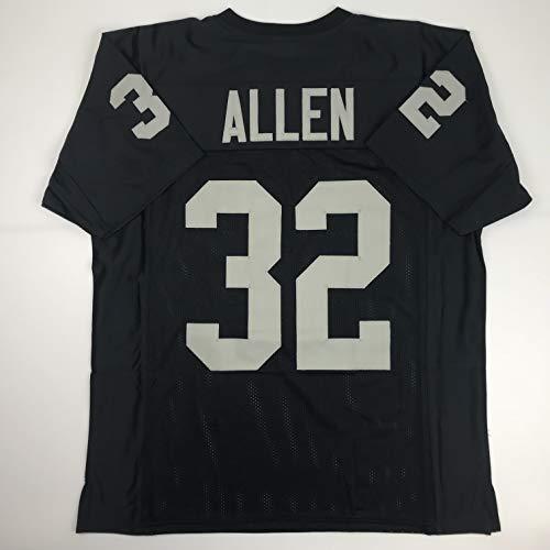 Marcus Allen Oakland Raiders Memorabilia. Unsigned Marcus Allen Oakland  Black Custom Stitched Football Jersey Size Men s ... b4480ae02