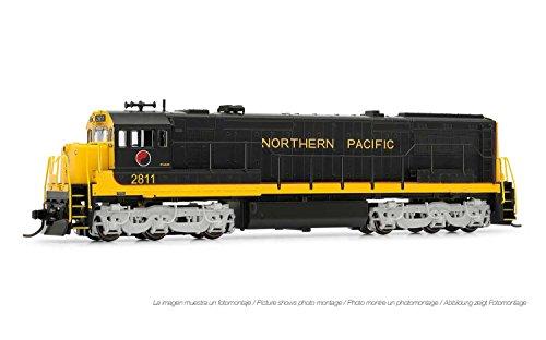 Northern Pacific Train - Arnold Northern Pacific GE U28C Diesel DCC Ready #2811 N Scale Locomotive HN2314