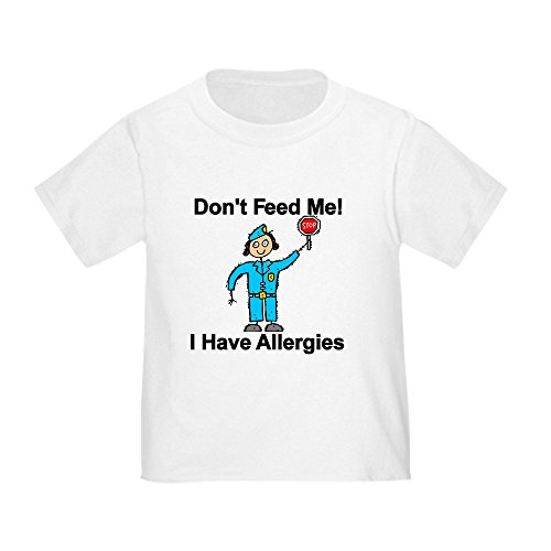 CafePress Don't Feed Me Cute Toddler T-Shirt, 100% Cotton White