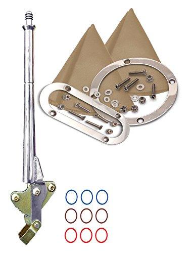 American Shifter 409014 2004R Shifter 10 E Brake Trim Kit Dipstick for D8235