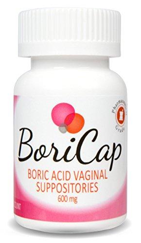 Borax vaginal supositories