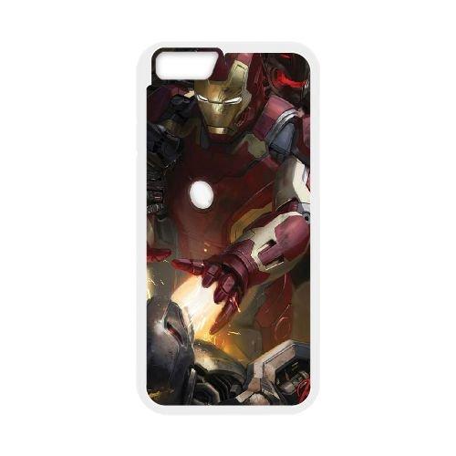 Avengers Age Of Ultron coque iPhone 6 Plus 5.5 Inch Housse Blanc téléphone portable couverture de cas coque EBDOBCKCO12343