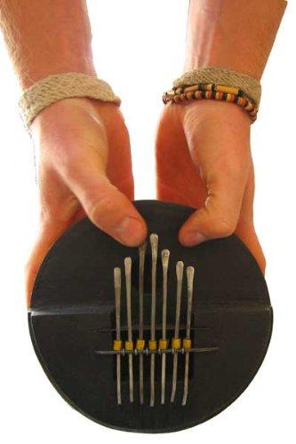 African Gourd Kalimba Mbira Thumb Piano - Tunable!