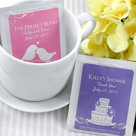 ors - Set of 30 (Silhouette) (Personalized Tea Party)