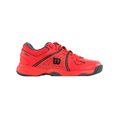 Zapatilla Padel Hombre Wilson Nvision Clay Court 47052 Rojo