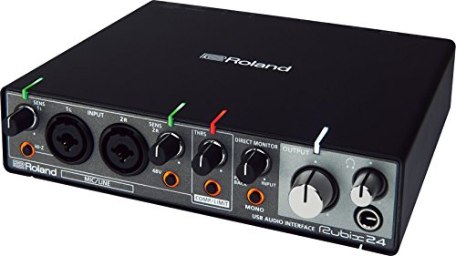 Roland Rubix 24 USB Audio Interface 2 in/4 out (RUBIX24) from Roland