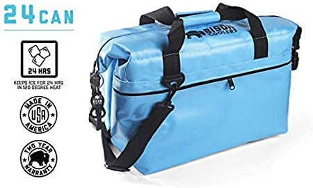 USA MADE !! 24can SoftPak Bison ! FREE GIFT INCLUDED !! COOLER