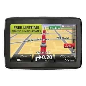 TomTom VIA 1405TM 4.3-Inch Portable GPS Navigator with Lifetime Traffic & Maps