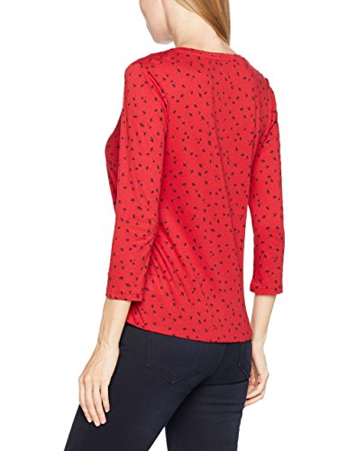 Tom Tailor Blouse Shirt, Blusa para Mujer Rojo (Scooter Red 4543)
