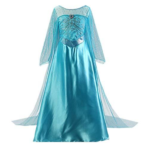 Halloween Costumes Of Elsa (Enterlife Girls Princess Costume Sequin Fancy Princess Dress Up for Birthday Party Halloween)