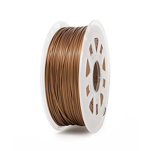Gizmo Dorks 1.75mm Metal Copper Fill Filament, 1 kg for 3D Printers
