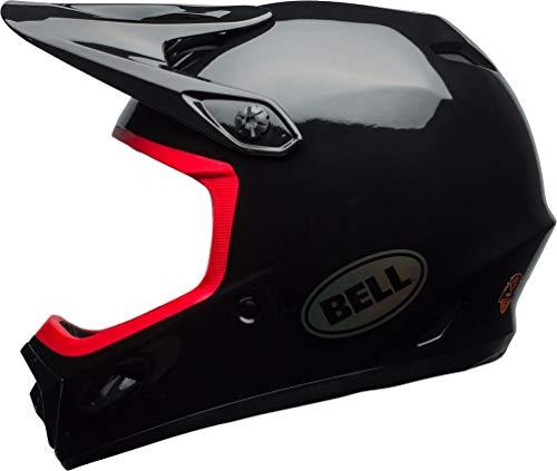 Bell Transfer-9 Cycling Helmet - Gloss Black/Hibiscus X-Large