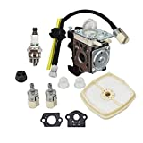 Autoparts Carburetor Zama RB-K93 Echo SRM-225 GT-225 PAS-225 Air Filter Fuel Line Kit