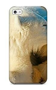 Brooke C. Hayes's Shop 9527062K14350815 Protective Tpu Case With Fashion Design For Iphone 5c (polar Bears In Love) WANGJING JINDA