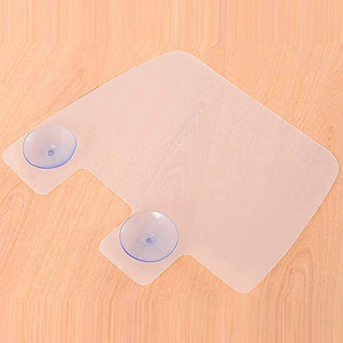 Mnefel Silicone Sink Water Splash Guard With Suction Cups For