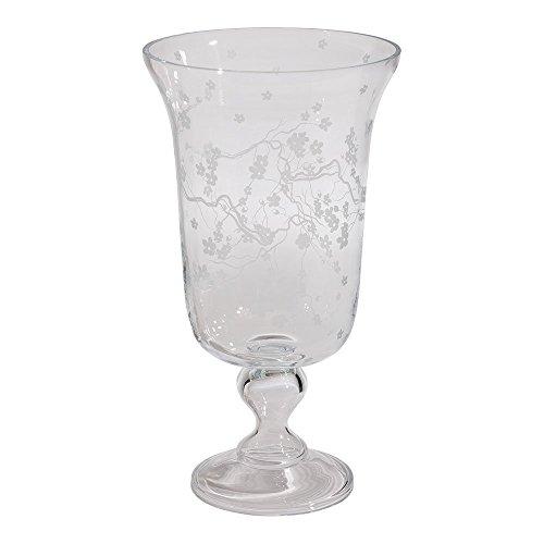 Ethan Allen Cherry Blossom Pedestal Vase (Cherry Blossom Large Vase)