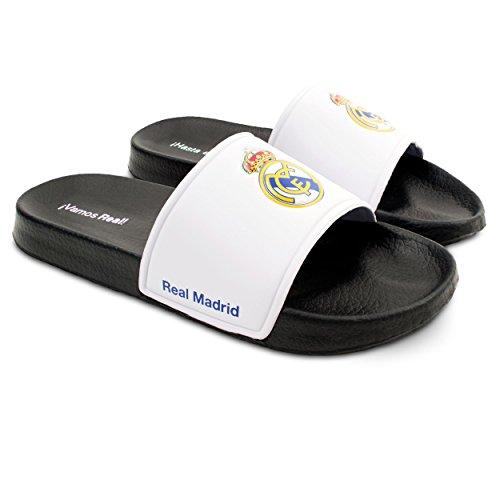 17d6c35138b Galleon - Real Madrid Bernabeu Mens Pool Slide Sandal