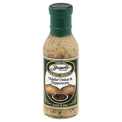 (Braswell Dressing Vidalia Onion Peppercorn, 12 ounce each - 6 per case.)