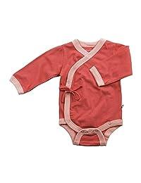 Babysoy Long Sleeve Kimono Bodysuit