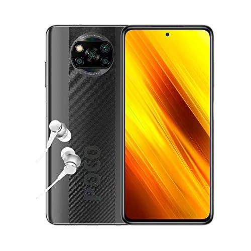 chollos oferta descuentos barato POCO X3 NFC Smartphone 6 67 FHD 6 64GB Snapdragon 732G 64 MP con IA Quad cámara 5160 mAh color Gris sombra Versión ES PT