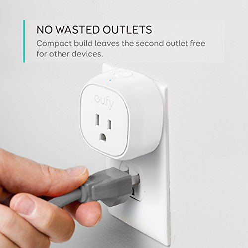 [Energy Monitoring] eufy Smart Plug by Anker, No Hub Required, Works With Amazon Alexa and the Google Assistant, Wi-Fi Enabled, White, Set Schedules, Countdown Timer, Control Remotely, Away Mode by eufy (Image #3)