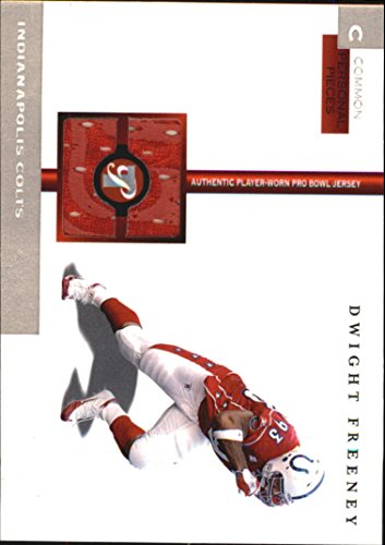 2005 Topps Pristine Personal Pieces Common #DF Dwight Freeney Game-Worn Jersey Card Serial ()