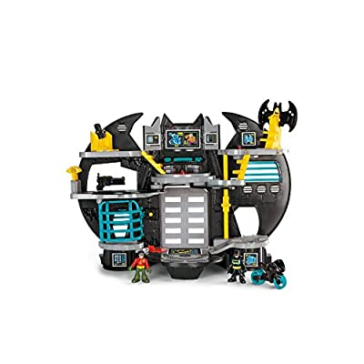 Fisher-Price Imaginext Super Friends Batcave: Toys & Games