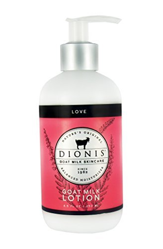 Signature Perfumed Lotion Body (Dionis Goat Milk Skincare - Lotion Love - 8.5 oz.)