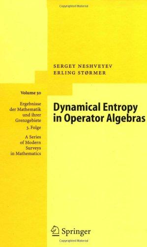 Dynamical Entropy in Operator Algebras (Ergebnisse der Mathematik und ihrer Grenzgebiete. 3. Folge / A Series of Modern Surveys in Mathematics)