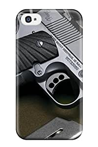 Cute Appearance Cover/tpu VKxfJQp1405XewYZ Gun Military Man Made Military Case For Iphone 4/4s
