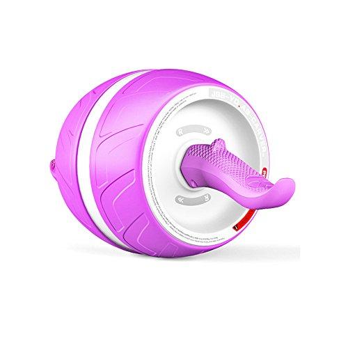 Rueda Abdominal de Rebote Automático, Abdominal Muscle Mute Trainer, Perfect Six Assembly Rueda ABS para Hombre y Mujer Equipo de Fitness para el Hogar, ...