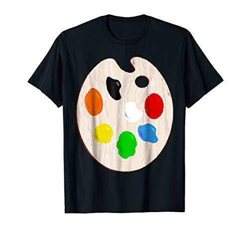 (Painter Artist Paint Palette Costume T-Shirt)