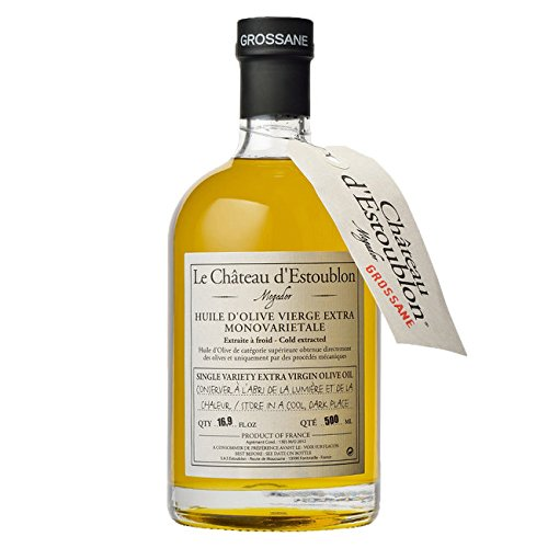 Chateau d'Estoublon Grossane Olive Oil 16.9 Fl. (Chateau Bread)
